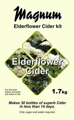 Elderflower cider recipe